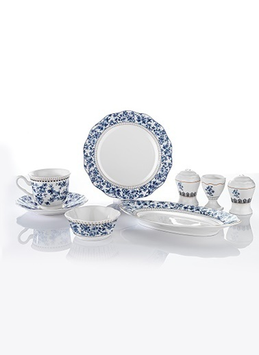 Schafer 32 Parça Joy Kahvaltı Takımı Mavi